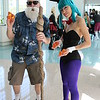 Master Roshi and Bulma