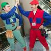 Luigi Mario and Mario Mario