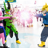 Buu, Cell, and Trunks