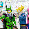 Cell, Trunks, and Buu