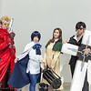Vash the Stampede, Meryl Stryfe, Milly Thompson, and Nicholas D. Wolfwood