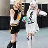 Rin Kagamine and Hatsune Miku