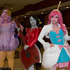 Lumpy Space Princess, Marceline, and Princess Bubblegum