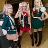 Chiaki Nanami, Junko Enoshima, and Sonia Nevermind