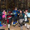 Mega Man Volnutt, Tron Bonne, Strider Hiryu, X, Chris Redfields, Ryu, and Servbot