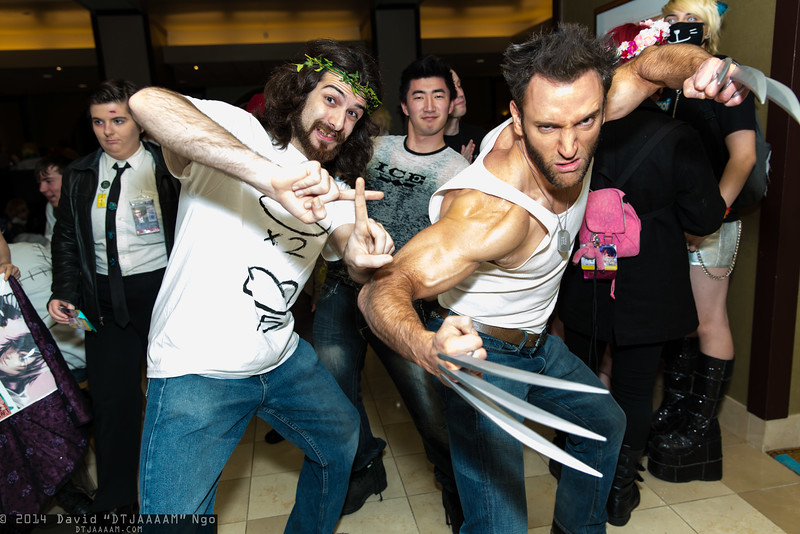 Jesus Christ and Wolverine