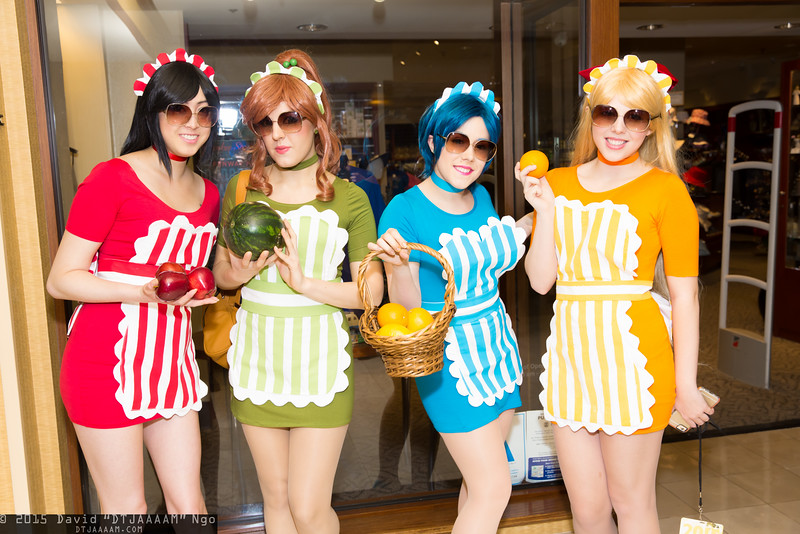 Sailor Mars, Sailor Jupiter, Sailor Mercury, and Sailor Venus