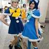Sailor Uranus and Sailor Mercury