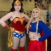 Wonder Woman and Supergirl