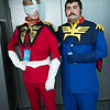 Char Aznable and Ramba Ral
