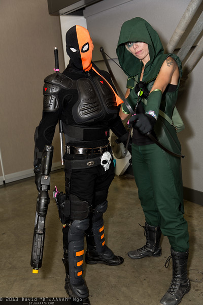 Deathstroke the Terminator and Green Arrow
