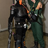 Deathstroke the Terminator and Green Arrow