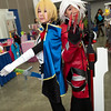 Jin Kisaragi and Ragna the Bloodedge
