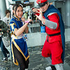 Chun-Li and M. Bison