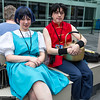 Akane Tendo and Ranma Saotome