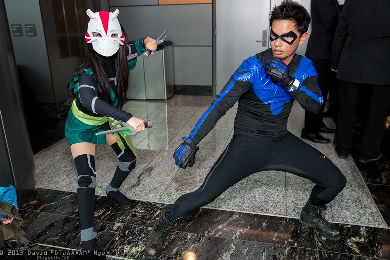 Cheshire and Nightwing