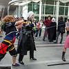 Sora, Sephiroth, and Aeris Gainsborough