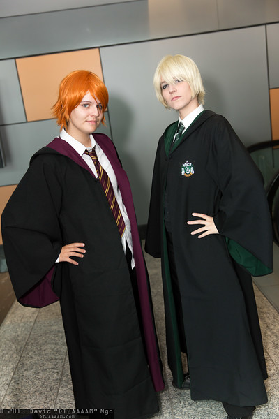 Ron Weasley and Draco Malfoy