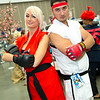 Ken Masters and Ryu