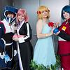 Kira Yamato, Lacus Clyne, Cagalli Yla Athha, and Athrun Zala