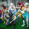 Anna, Megara, Princess Jasmine, Sub-Zero, Elsa, Snow White, Ariel, and Cinderella