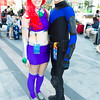 Starfire and Nightwing