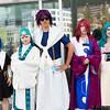 Aladdin, Jafar, Sinbad, Koumei Ren, and Yamraiha