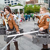 Hanji Zoe and Annie Leonhart