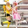 Pikachu and Jigglypuff