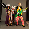Brook, Buggy the Clown, and Alvida from One Piece