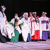 AWA Costume Contestant Winners on Stage
