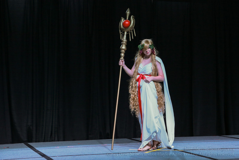 AWA Costume Contestants on Stage