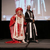 Priscilla as Caterina Szforza and Ron as Abel Nightroad of Trinity Blood at the 2009 Anime Weekend Costume Contest