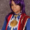 Ashley as Prince Soma Asman Gadarl of Kuroshitsugi at the 2009 Anime Weekend Costume Contest