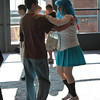 Dance lessons before the 2008 Anime Weekend Atlanta 14 Black and White Ball
