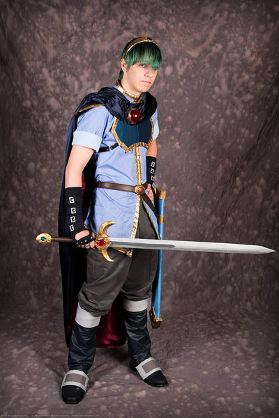 Prince Marth Lowell from Fire Emblem / Super Smash Brothers in the Costume Contest at Anime Weekend Atlanta 14