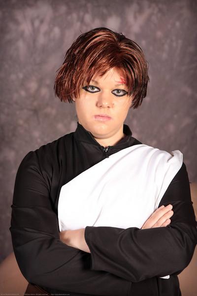 Kazekage Gaara of Naruto Costume Contestant at Anime Weekend Atlanta 14