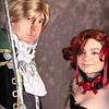 Amy Sorel and Raphael Sorel of Soul Calibur 4 Costume Contestants at Anime Weekend Atlanta 14