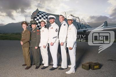 Monty and crew