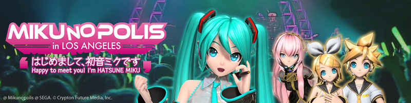 Mikunoplois Playlist (Outfit/costume in parentheses)<br /> <br /> 1. Project Diva desu (empty stage)<br /> 2. World Is Mine (Original)<br /> 3. Electric Angel (Original)<br /> 4. Koi Suru VOC@LOID (Original)<br /> 5. Clover Club (Miku Hood)<br /> 6. PoPiPo! (Jer★Sey)<br /> 7. Cinderella and Romeo (Vintage Dress)<br /> 8. Ura-omote Lovers (Original)<br /> 9. Puzzle (Original)<br /> 10. VOiCE (Original)<br /> 11. 1 / 6 - out of the gravity (Original)<br /> 12. Moon (Spiritual)<br /> 13. Disappearance of Hatsune Miku (∞ Infinity)<br /> 14. Butterfly on the Right Shoulder (Rin - Original, Len - Original)<br /> 15. Meltdown (Rin - Reactor)<br /> 16. Just Be Friend - Thanks LA (Luka - Original)<br /> 17. World's End Dancehall (Miku - Butterfly Kimono, Luka - Flower Kimono)<br /> 18. from Y to Y (White Dress)<br /> 19. Saihate (Saihate Miku)<br /> 20. Viewfinder DSLR remix (Powder)<br /> 21. SPiCa (Angel)<br /> 22. Ai Kotoba (Original)<br /> 23. StargazeR (Original)<br /> 24. Hajimete no Oto (Original)