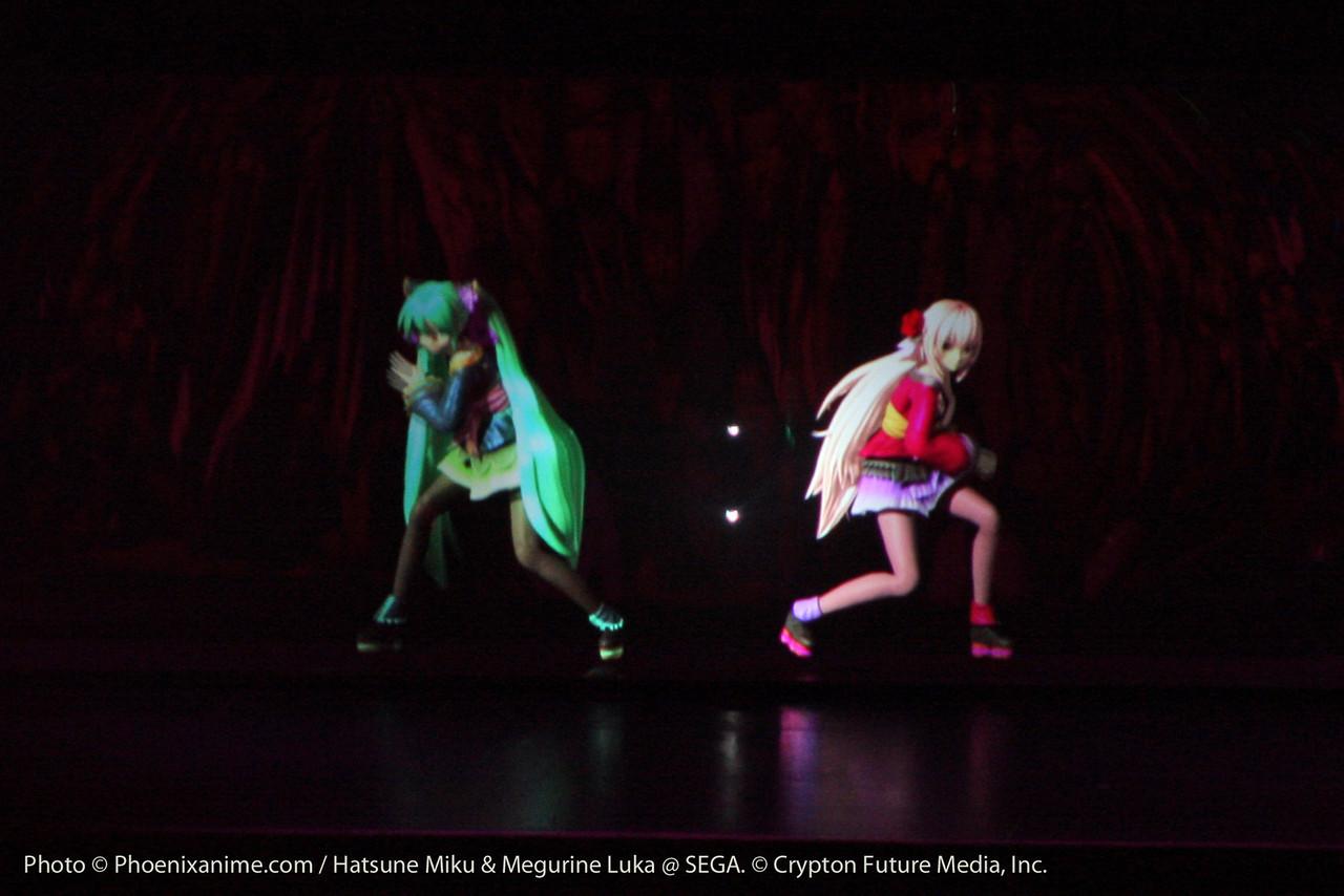 Miku and Luka team up with World's End Dancehall