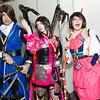 Masamune Date, Oichi, and Tsuruhime