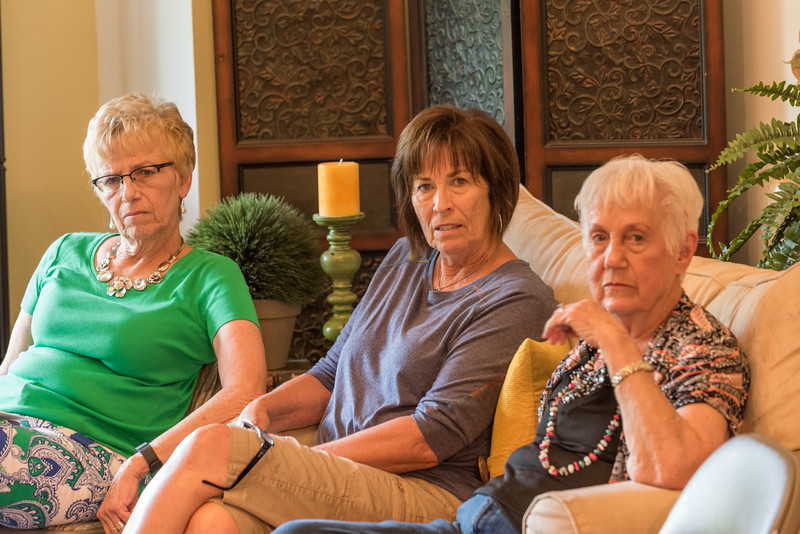 Anita, Carol & Aunt Gloria