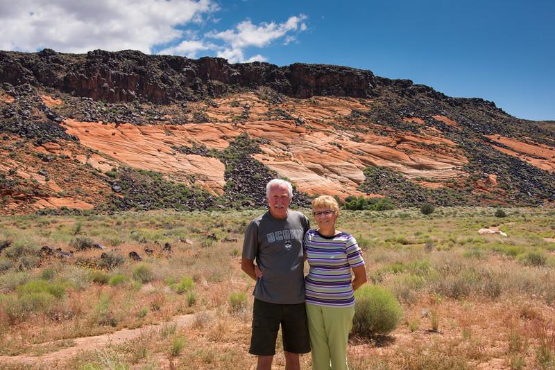 2017-05-16 Eldon Erickson & Anita at Pine Valley & the Mountain Meadow Massacre Historical Site_0002
