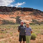 2017-05-16 Eldon Erickson & Anita at Pine Valley & the Mountain Meadow Massacre Historical Site_0003