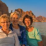 Anita, Robyn & Carol at Camel Rock