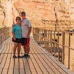 Steve & Carol on the Trail to Rainbow Bridge