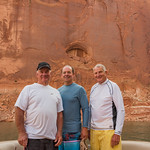 "Steve, Kevin & Ron at the ""All Seeing Eye"" Cove"