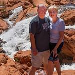 2019-04-26 Kevin & Robyn at Gunlock Falls_0010