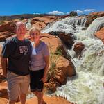 2019-04-26 Kevin & Robyn Martin at Gunlock Falls_0020 - Robyn's Phone